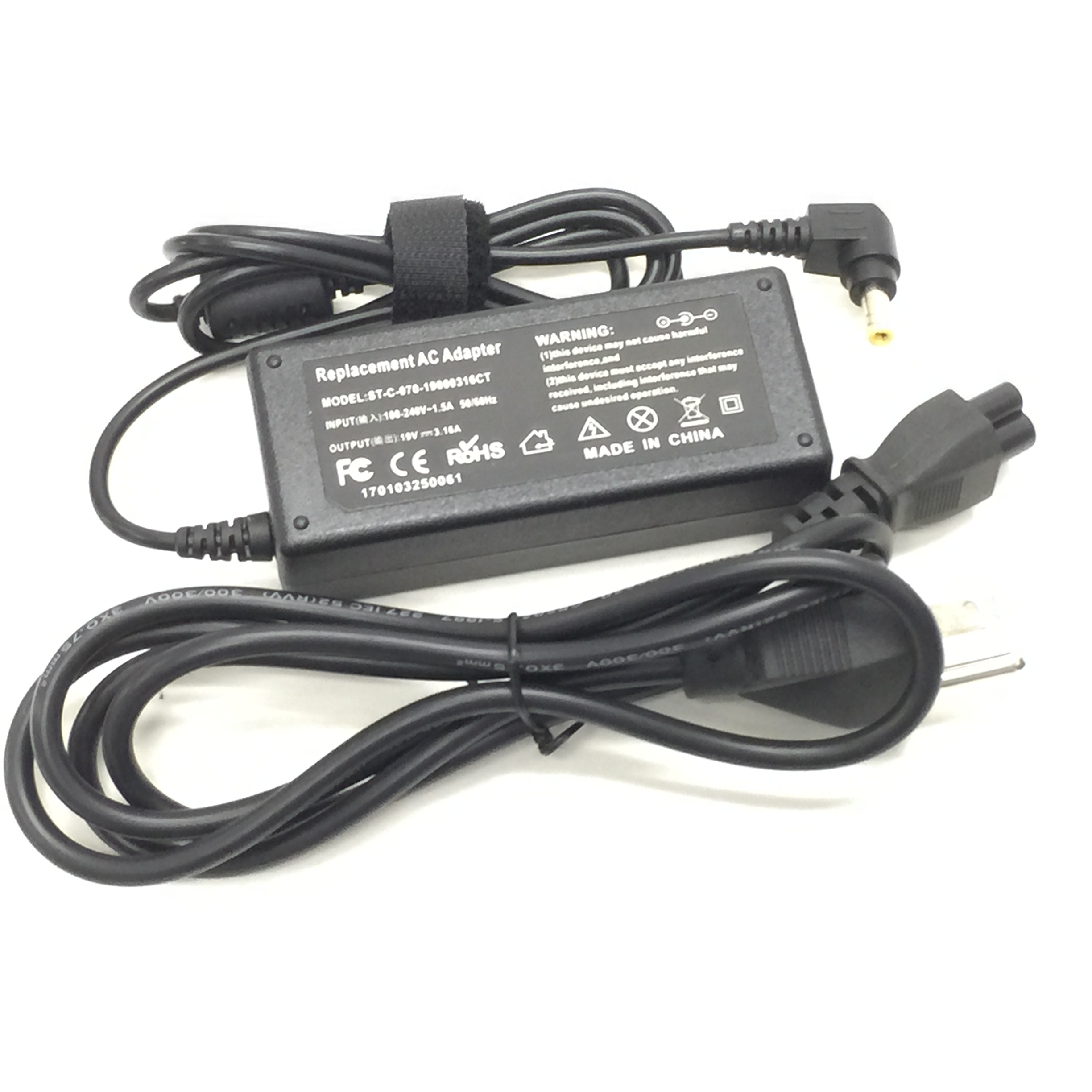60W AC Adapter Laptop Charger For Toshiba Satellite U940 100 117