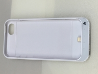 External battery power case for Iphone 5 5C 5S White color from Canada